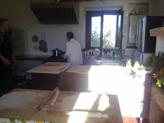 Decugnano Dei Barbi Cooking Class: Home made pasta