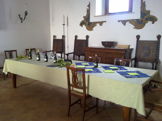 Decugnano Dei Barbi Cooking Class: wine and food tasting after the class