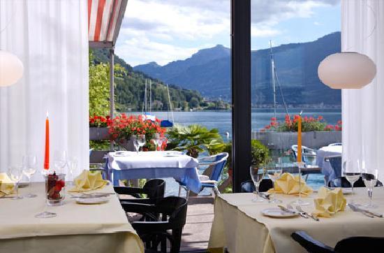 Restaurant Zugersee Lido: Blick auf den See