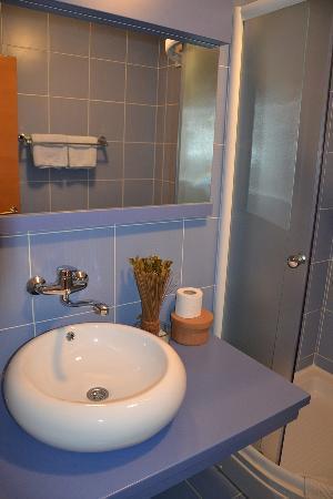 Cvetni Konaci Hotel: Bathroom