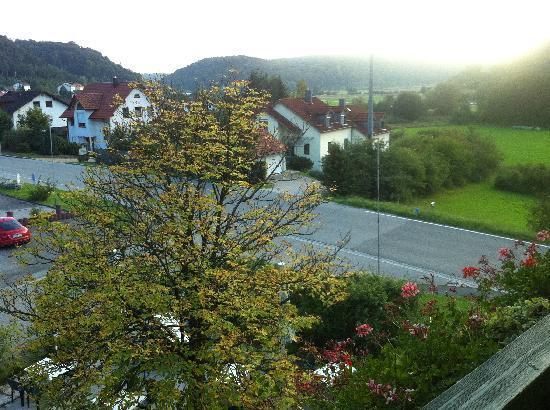 Zum Raben: View from the balcony