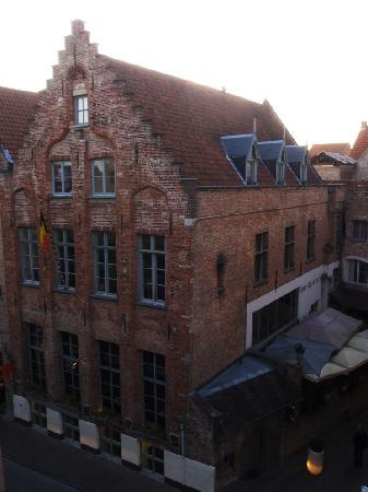 Martin's Brugge: View from our room 1
