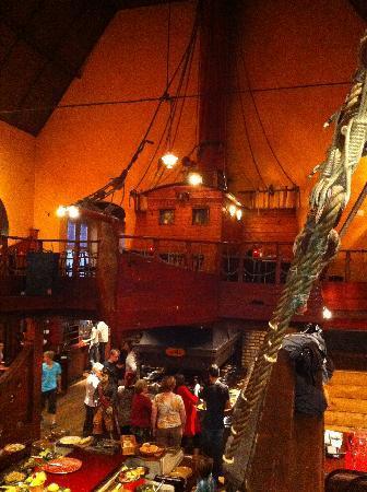 Piraat Grill: Interieur