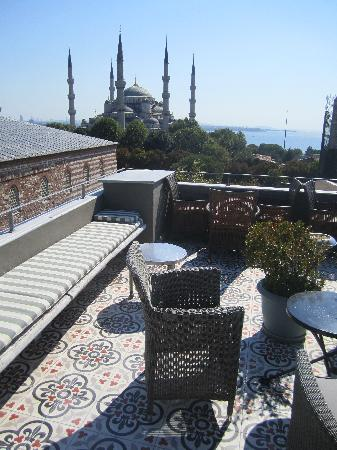 Ibrahim Pasha Hotel: View from rooftop
