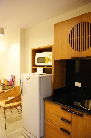 โรงแรมเบลลา วิลล่า พริม่า: Kitchenette