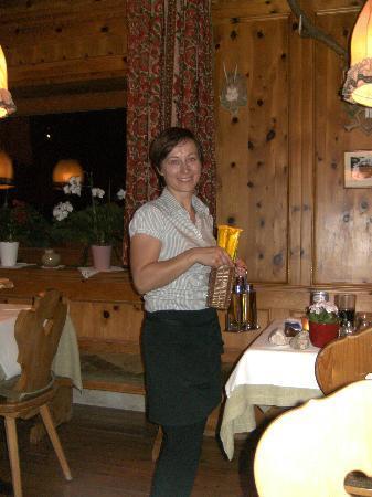 Hotel Platz: andrea, stets freundlich und gut gelaunt, läßt das essen gleich noch besser munden