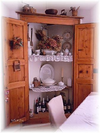 B&B Papillon: dettaglio sala colazioni