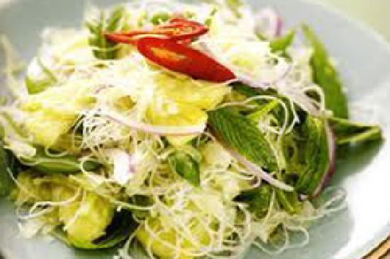 Prik Thai: Salade de Paye Verte