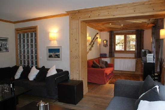 Chalet Blanche: Relax in the lounge