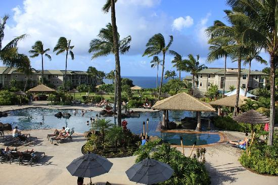 The Westin Princeville Ocean Resort Villas: From the Main Building
