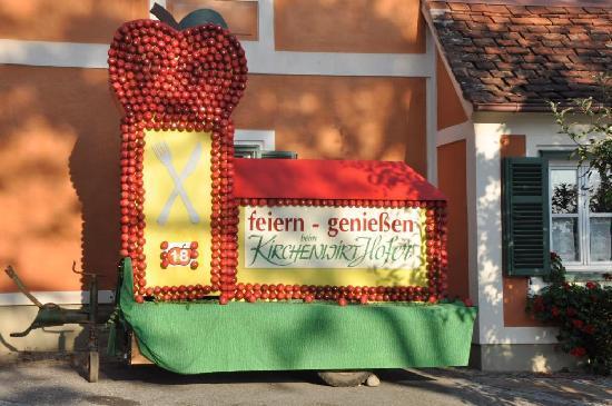 Gasthof Zum Kirchenwirt: Herbst im Apfelland