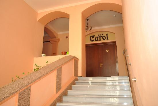 Carol Hotel: Hotel staires