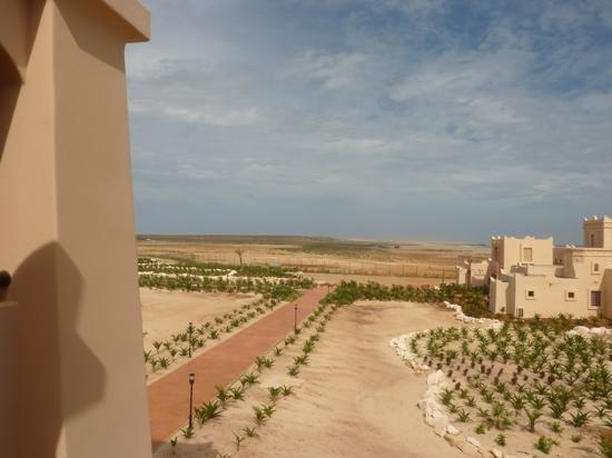 Hotel Riu Touareg: veiw from our room
