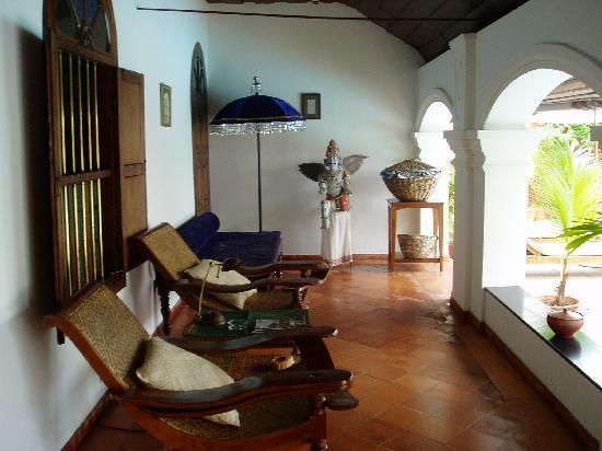Raheem Residency: Relaxing Verandah