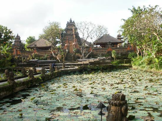 อูบุด, อินโดนีเซีย: il palazzo principale