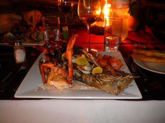 VOI Kiwengwa Resort: La cena di crostacei