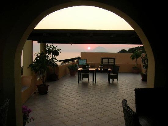 Hotel - Residence Al Belvedere Salina: LA TERRAZZA