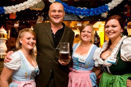 Bavarian Beerhouse Old Street: Al Murray - The Pub Landlord @ Bavarian Beerhouse
