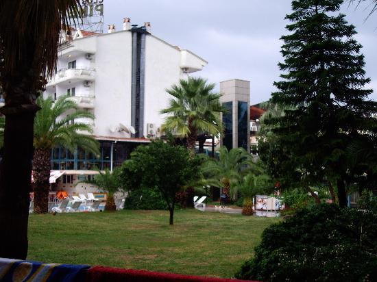 Club Pineta Hotel: View from first floor balcony