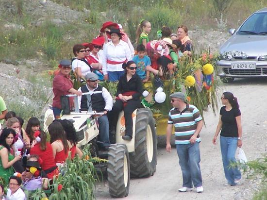 Lubrin, สเปน: Carnival Cruz de Mayo