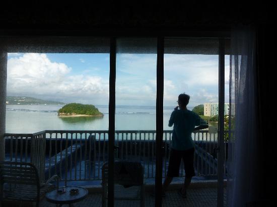 Onward Beach Resort: OVは低層階でも良い眺めでした