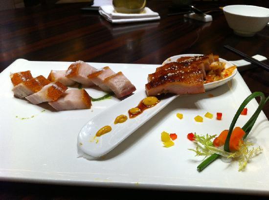 เดอะเวสทิน ผาโจว กวางโจว: One of the dish that we order from the great Chinese restaurant