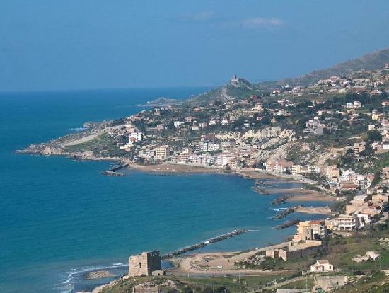 Bed and Breakfast Mediterraneo Mare e Sole : Panorame di Marina di Palma