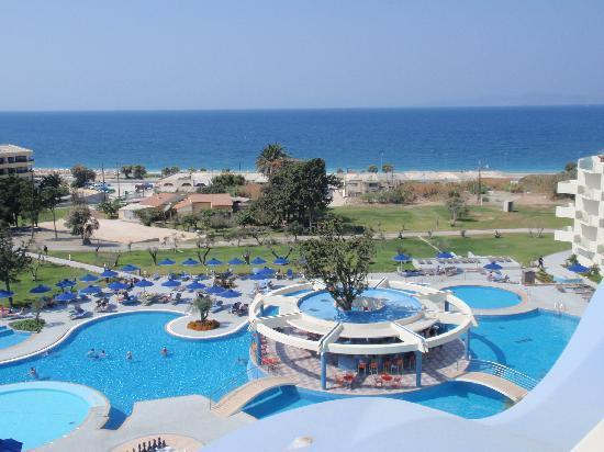Atrium Platinum Luxury Resort Hotel & Spa: vista dalla camera