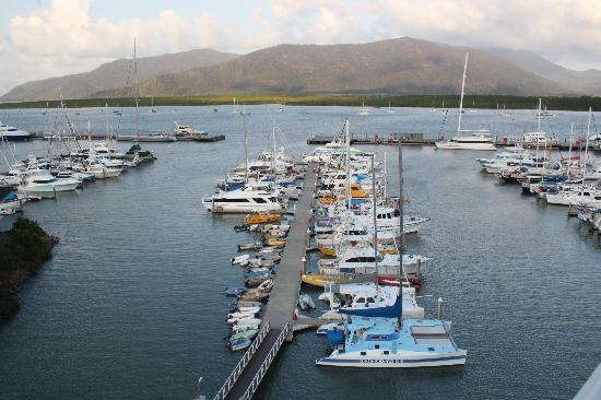 Shangri-La Hotel, The Marina, Cairns: View from Room 4004