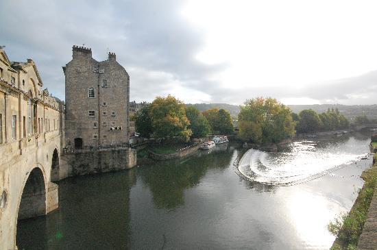 Best Western Limpley Stoke Hotel: River Avon From Bridge