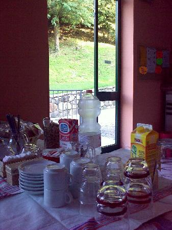 Ostello sull'Adda: colazione