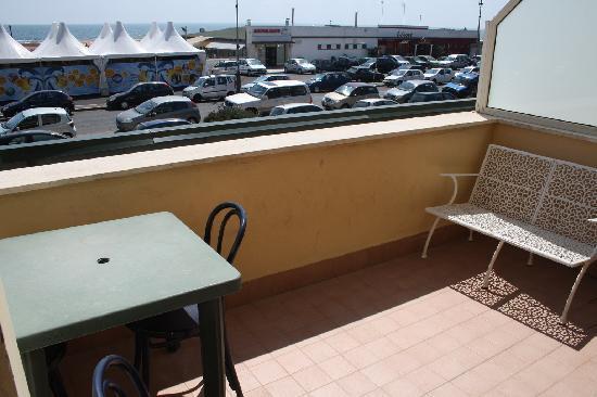 Hotel La Scaletta: Balcony
