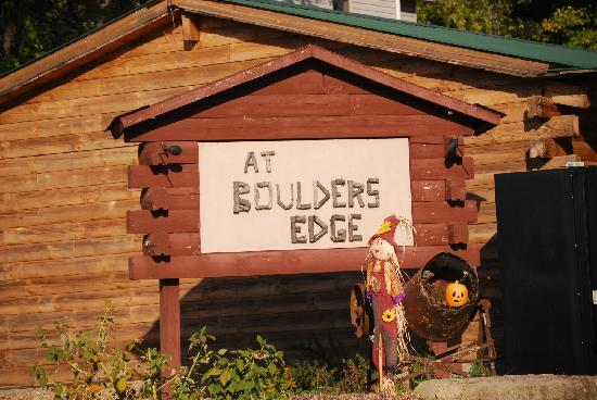 At Boulders Edge: Welcome to....