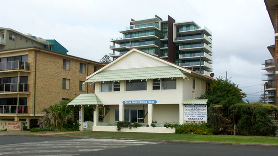 Forster, Australia: Our room was the one on ground floor, front