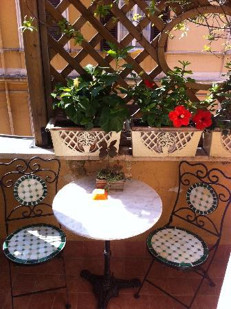 Lilium Hotel: the little balcony