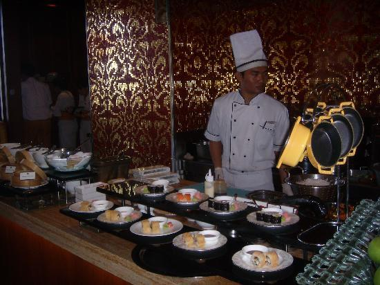 Boneka Restaurant at The St. Regis Bali Resort: Japanese section and so many choices