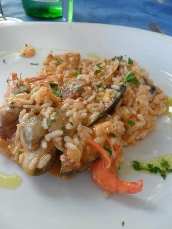 La Taverna del Lupo di Mare: risotto alla pescatora