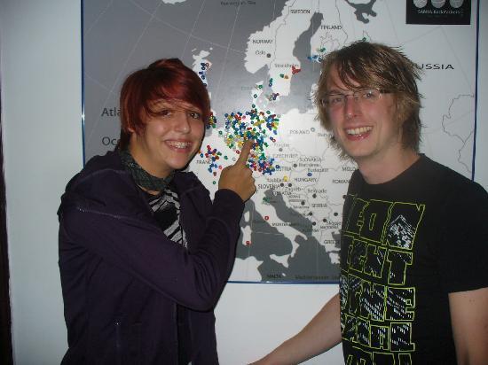 Sanya Backpackers: Corinna and Severin