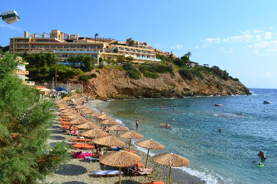 Sea Side Resort & Spa: la plage et l'hotel