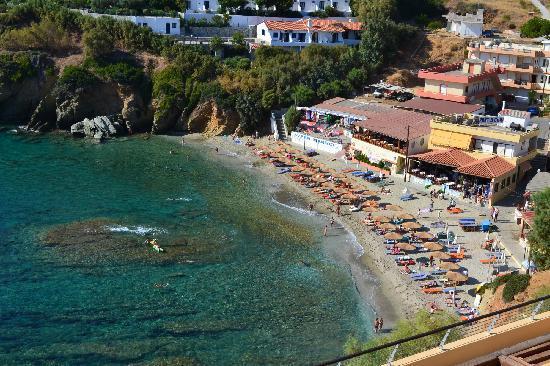 Sea Side Resort & Spa: la plage vue de l'hotel