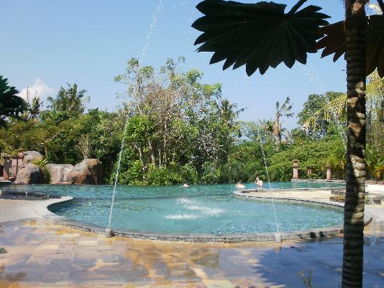 Bali Safari & Marine Park: the water was perfect!