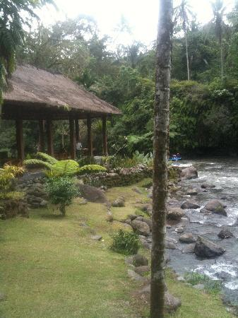 โรงแรมรอยัล ปิตา มาฮา: Restaurant by the river