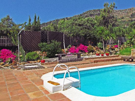 Great Escapes Andalucia: Pool with mountain backdrop