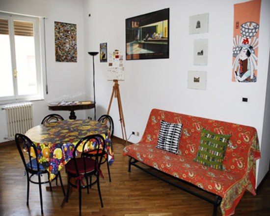 Santo Spirito Bed and Breakfast : living room