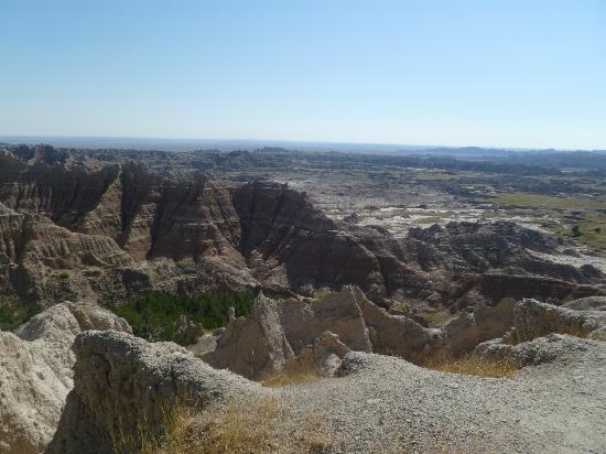 Badlands Wall: badlands