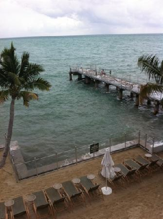 Southernmost Beach Resort: view from above, watching sunrise