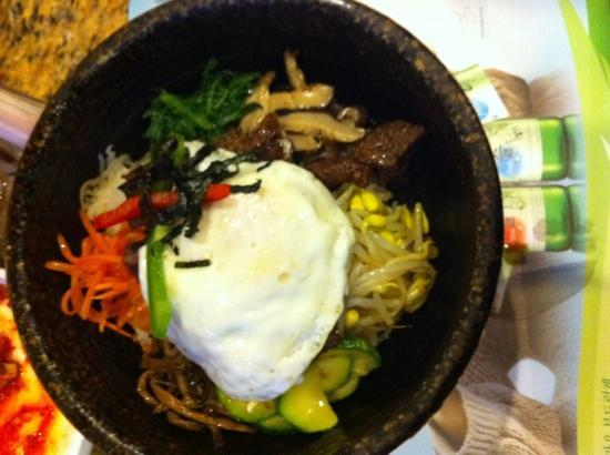 Garlic & Ginger : beef rib rice bowl with egg, best ever,
