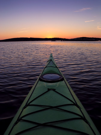 Chester, Canada: Evening paddle on the Mahone Bay