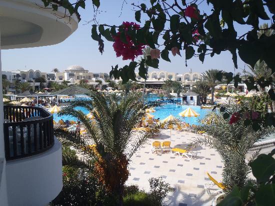 Djerba Holiday Beach: vu de la chambre