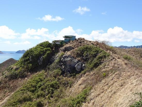 Lanikai Beach: もう一息で頂上